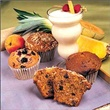 Banana Peach Low Fat Muffin Large
